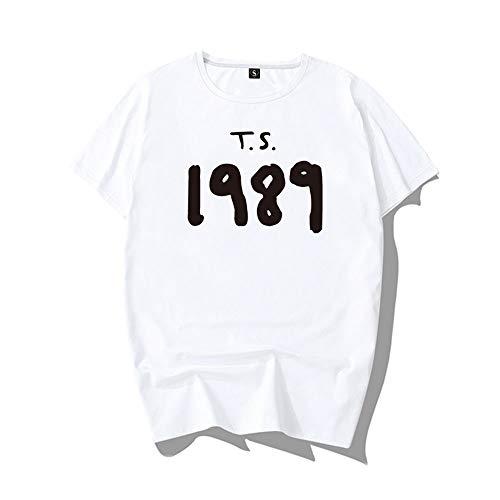 Taylor Swift ,con camisetas de manga corta para hombres y mujeres.