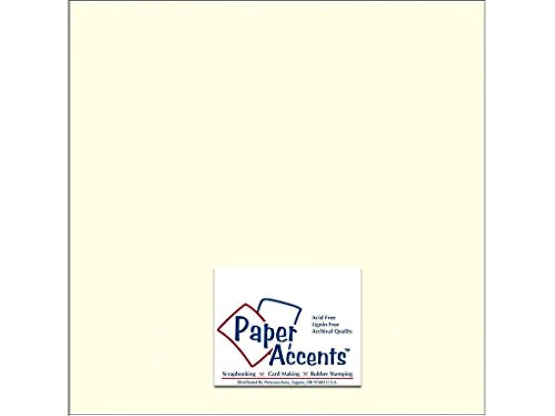 Accent Design Paper Accents ADPaperTextured12x12Natural Cdstk Textured 12x12 80# Natural