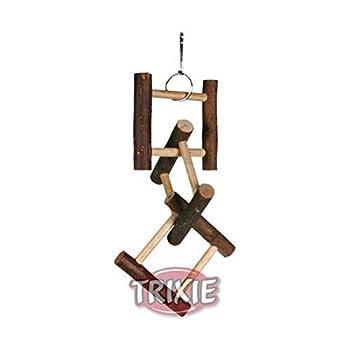 Trixie Natural Living échelle à suspendre avec 12échelons, 58cm