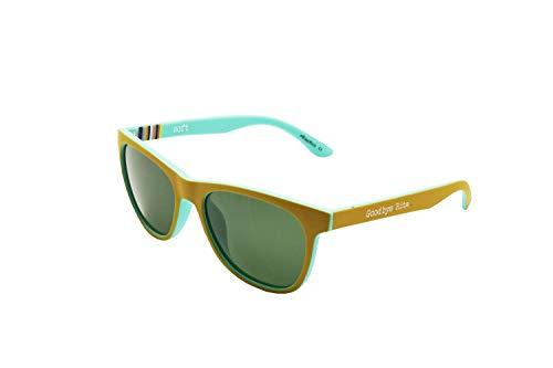 Goodbye, Rita. - Gafas de sol Polarizadas Lente ahumada - Doble color Azul y mostaza - Modelo Watts