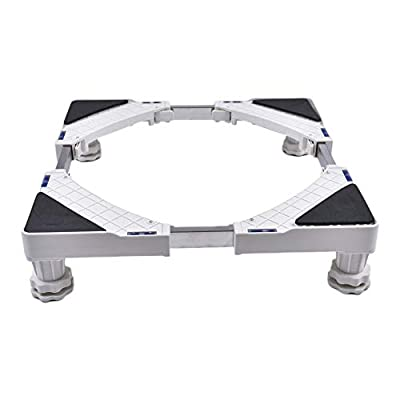 Refrigerator Washing Machine Base Stainless Steel Heightened Adjustable 43cm to 60cm