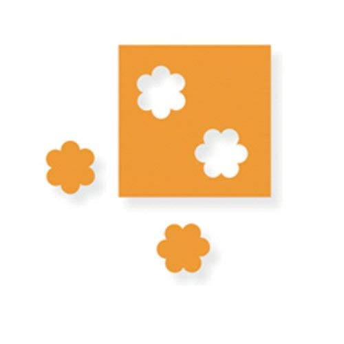 """Fiskars Hand Punch, 1/4"""" Flower,  For Punching Out Flowers, For Left/Right-handed Users, 1003820"""