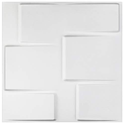 Arthur Wandplatte, 5 m², 3D-Wandplatte, Wandplatte, 50 x 50 cm