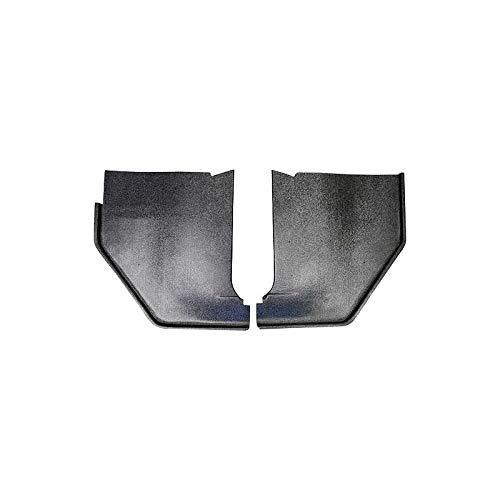 MACs Auto Parts 42-34680 -65 Fairlane Black Paintable Injection Molded ABS Plastic Kick Panels