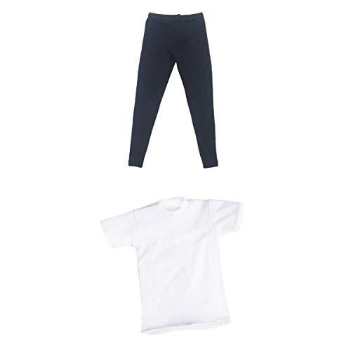 Harilla 1: 6 Scale Soldier T-Shirt Leggings Pantalones para TC Dragon Figuras Masculinas