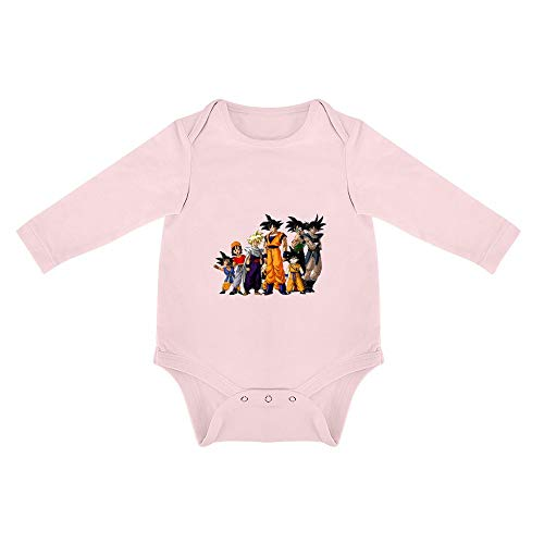 Triangular Baby Jumpsuit Dragonball Z Recién Nacido Pijama Pink-style1 18months