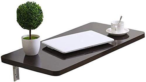 Wandmontage Klapptisch Laptop Schreibtisch Küche Arbeitszimmer Esstisch Büro Computer Workstation mit 2 Metallhalterungen Platzsparend Multi-Size Optional (40x30cm)