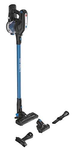 Hoover H-FREE 200 HF222UPT-Aspiradora escoba y de mano sin cable,ciclónico,especial mascotas, ion litio 22V,autonomía 40mins, 0,7L, cepillo motorizado LED, accesorio pelo mascota, tapicería y rincones