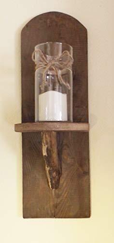 Dallaknaller 1 STK,Wandkerzenhalter,Kerzenständer,Wandleuchter,Rustik RU1,Design,Teelicht