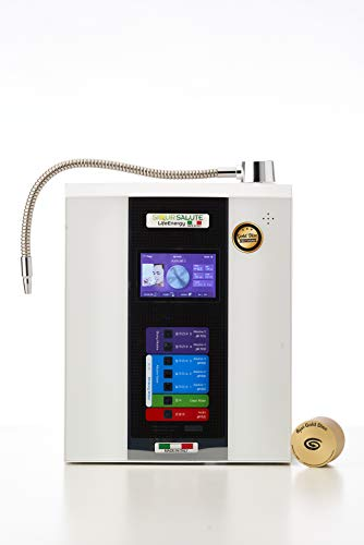 siqur salute LifeEnergy Water - Générateur Ioniseur d'eau Pure Hydrogénée - Eau Alcaline et Ènergisée - Technologie Unique du Disque d'or - FABRIQUÉ en Italie