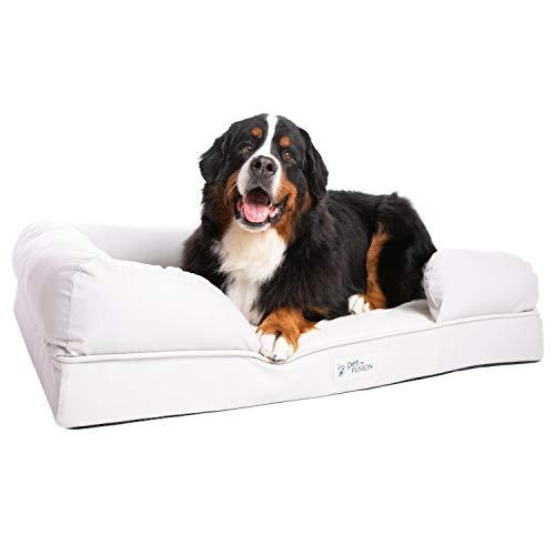 PetFusion Ultimatives massives wasserdichtes Hundebett aus Memory-Schaum für XL-Hunde, 8,89 kg