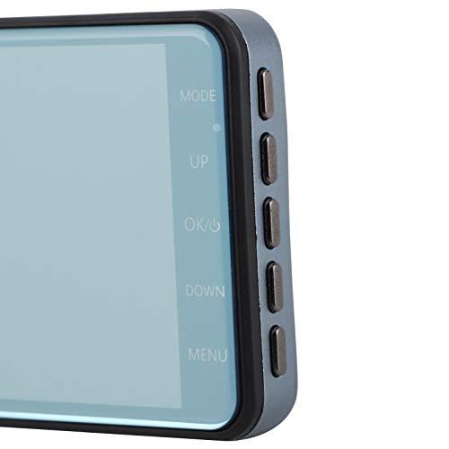 XINL Grabadora de conducción, cámara de salpicadero automática, 4 Pulgadas para camión, Coche, SUV, Taxi