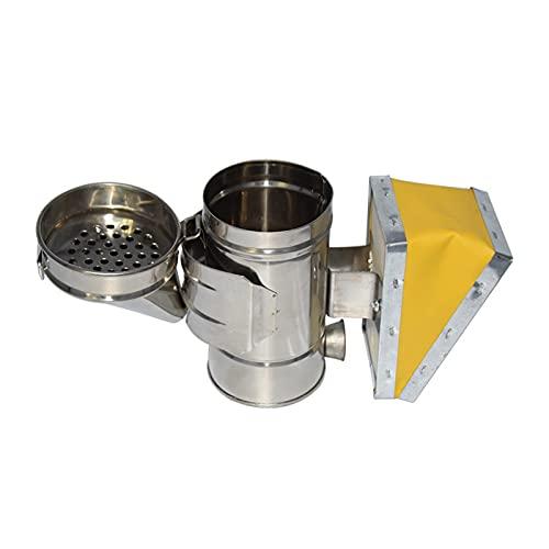 ZHANGAIGUO CCCZY Apicultura Mini Fumador Abeja Smoke Smoke Transmisor Kit Herramienta de Apicultura Apicultura Herramientas de Apicultura Rociador de Humo