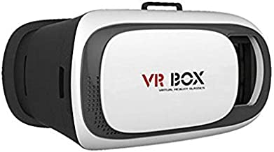 SESAX 3D Vr Box Virtual Reality Headset 3D Glasses Version 2.0 Vr Box for All Smartphones (Color May Vary)