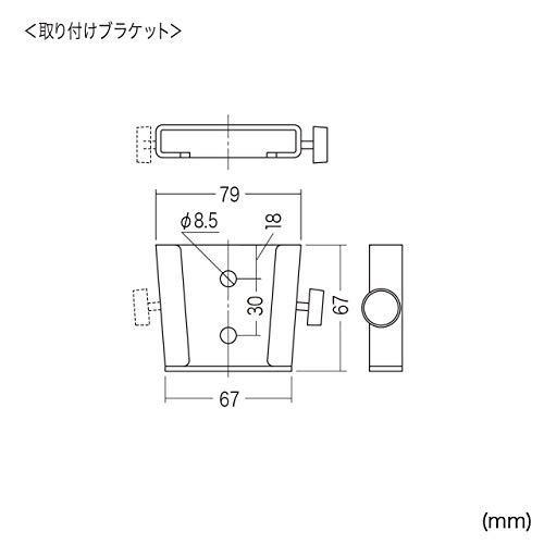 サンワサプライモニターアームCR-LA303