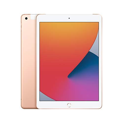 New Apple iPad (10.2-inch, Wi-Fi + Cellular, 32GB) - Gold (Latest Model, 8th Generation)