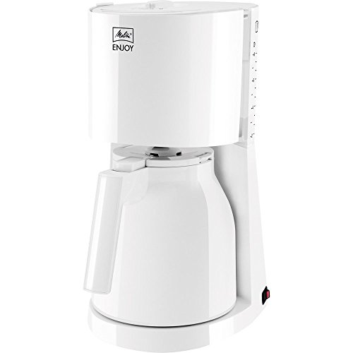 Melitta 1017-05 Enjoy Filter-Kaffeemaschine, weiß