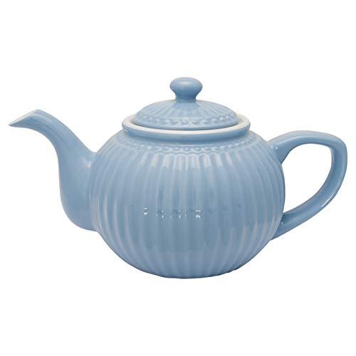 GreenGate - Teekanne - Alice - Porzellan - Sky Blue - 1 l