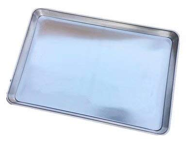 Baking Sheet Pan for Toaster Oven, Stainless Steel Baking Pans Easy Clean, Dishwasher Safe, 17x23 inch(silver)