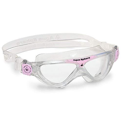Aqua Lung Vista Junior - Gafas de natación (Cristal Transparente), Color Rosa...