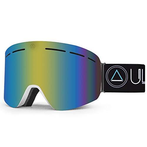 Uller Máscara de Esquí Gafas Ski y Snowboard Freeride Antivaho, Protección 100%...