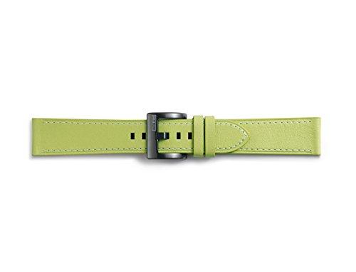 Samsung GP-R600BREEBAE Leder Armband für Gear Sport Olivgrün