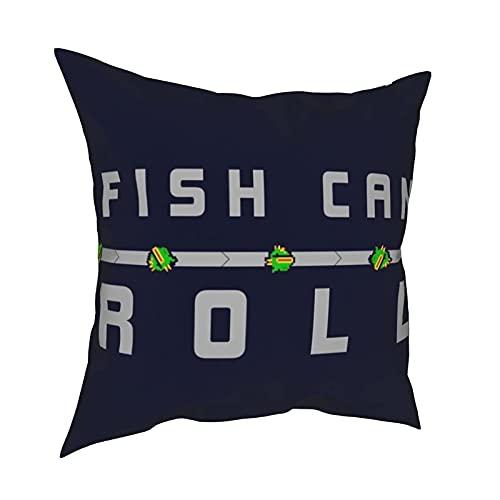 Funda de Almohada Competitive & Games & Fish Can Roll Nuclear Throne Pillowcases,Floor Pillowcases,Pillowcases,Sofa Cushions,Cushion Covers,Backrest Covers,Car Cushion Interiors