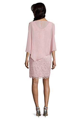 Vera Mont Damen 0095/4805 Kleid, Rosa (Foggy Rose 4481), (Herstellergröße: 42)
