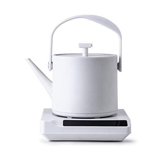 Hervidor eléctrico Tetera portátil retro, 1200 W hierve agua rápidamente para té,...