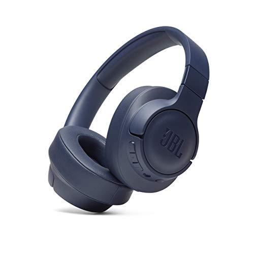 JBL Tune 700BT Over-Ear Kopfhörer - Kabellose Bluetooth Ohrhörer mit 27 Stunden Akkulaufzeit - Musik Streaming und telefonieren unterwegs Blau