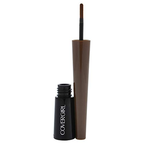 COVERGIRL Bombshell POW-der Brow & Line Eyebrow Powder Medium Brown 810, .24 oz (packaging may vary)