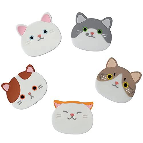 Silicone Cat Coasters