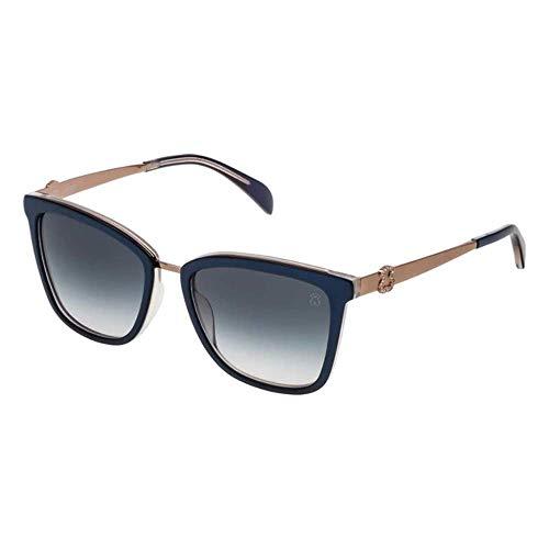 TOUS STO999S-5309MF Gafas, Azul/Morado, 53/18/135 para Mujer