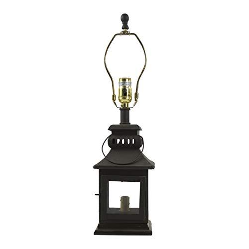 Park Designs Iron Lantern Lamp - Black