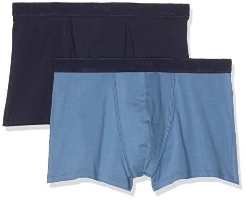 Dim Sous-vêtements Homme Herren Boxer Soft Power X2 Boxershorts, Blau (Bleu Jean/Bleu Denim 8nl), XX-Large (Herstellergröße: 6) (2er Pack)