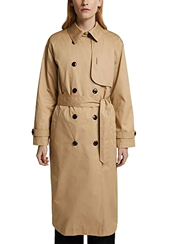 ESPRIT Collection Damen 011EO1G307 Jacke, 270/BEIGE, 36