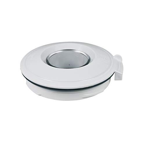 Bosch Siemens 10005576 ORIGINAL Deckel Abdeckung Mixerdeckel Mixerbehälterabdeckung Behälterdeckel Mixerbehälterdeckel Mixbecherdeckel Standmixer Mixer Küchenmaschine auch Neff Constructa Balay