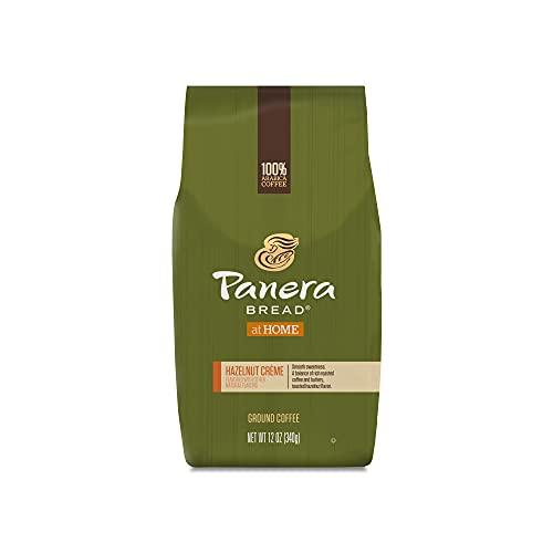 Panera Bread Hazelnut Crème, Ground Coffee, Flavored Light Roast, Bagged 12 oz