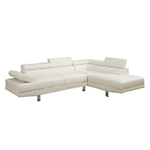 White Sectional: Amazon.com