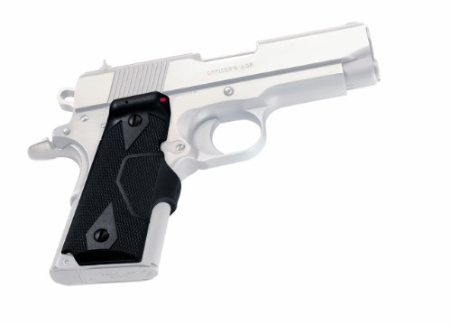 Crimson Trace Lasergrip for 1911 Officer'S/Defender/Compact, Black with Front Activation