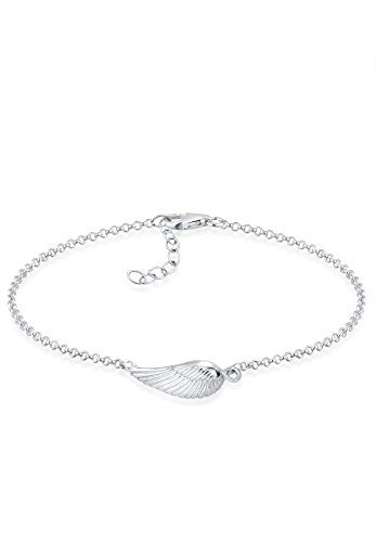 Elli Armband Damen Flügel Symbol Schutzengel in 925 Sterling Silber
