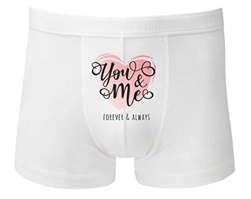 Boxershort - You and Me Herz - Unterhose für Herren und Männer