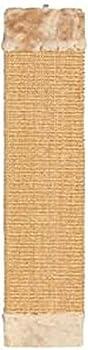 TRIXIE 43073 Griffoir avec éléments en Peluche Beige 15 × 62 cm