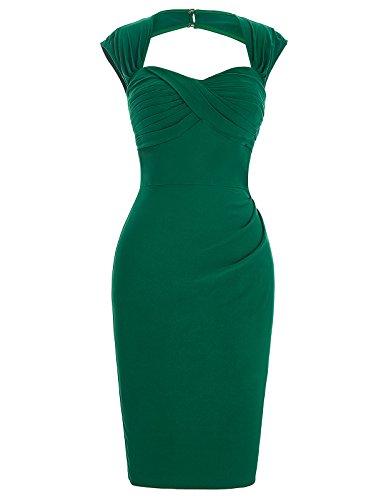 Comprar Vestido Verde Esmeralda Corto No Lo Hay Mas