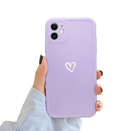 Newseego Compatible for iPhone 11 Case(6.1''), Fashion Cute Love-Heart...