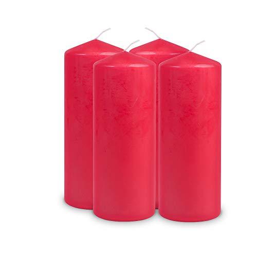 Müller Kerzen, Candela 2012008091, Rosso (Rot)