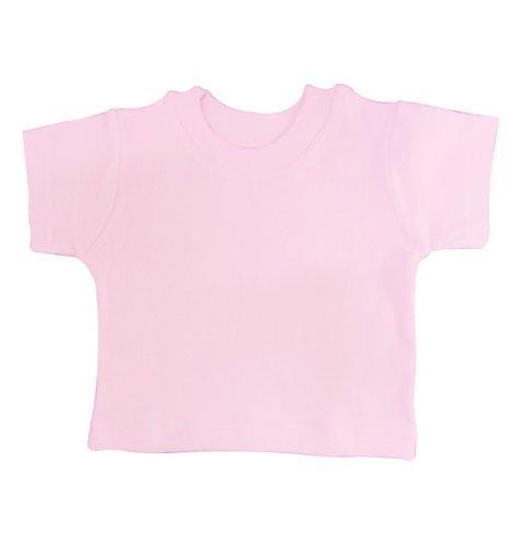 BabywearUK bébé T-Shirt – Britannique - Rose - 18-24 Mois