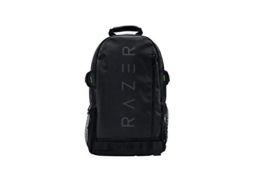 Razer Rogue v2 13.3' Gaming Laptop Backpack: Tear and Water Resistant Exterior - Mesh Side Pocket for Water Bottles - Dedicated Laptop Compartment - Made to Fit 13 inch Laptops