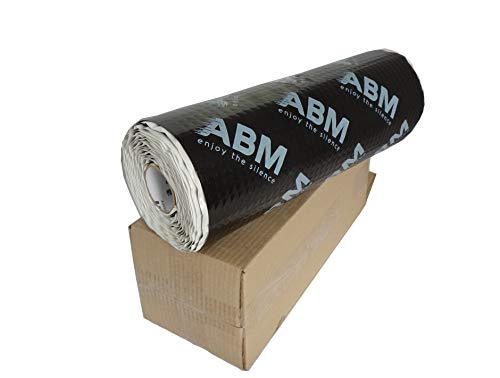 ABM 2 qm ALUBUTYL Dämmmatte Anti Dröhn Sounddämmung Dämmung 2,5 mm x 40 cm x 5 Meter