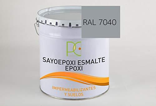 PINTURA EPOXI 2 COMP. PARA SUELOS COLOR GRIS 6 KG (4 kg. base + 2 kg. catalizador)